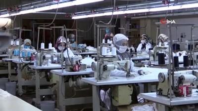 Kocaeli'deki meslek kursları 1 milyon maske üretti
