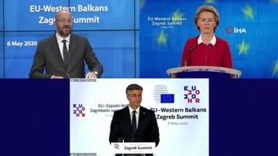 - AB-Batı Balkan Zirvesi video konferans yöntemiyle gerçekleştirildi - AB'den Batı Balkan ülkelerine Covid-19 ile mücadelede destek