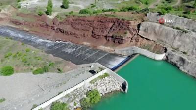 ilkbahar -  Karların erimesiyle Erzincan'daki barajlarda doluluk oranı arttı