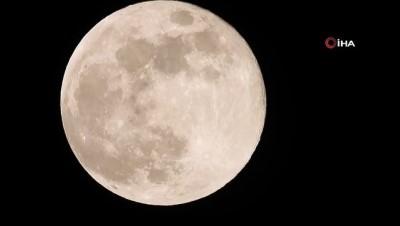 Ahlat'ta 'Süper Ay' böyle görüldü