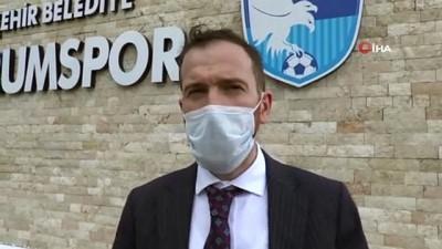 BB Erzurumspor Basın Sözcüsü Ahmet Dal: 'Bu ortamda futbol oynanmaz'