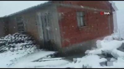 yagisli hava -  Doğu Karadeniz Bölgesi'nin yüksek kesimlerine 'Mayıs karı' sürprizi