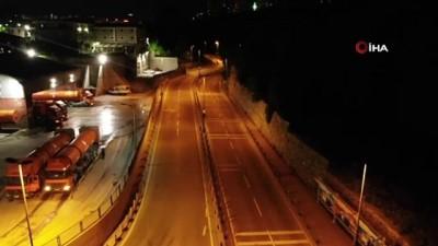 İstanbul'da trafikteki yoğunluk yüzde 1 seviyelerine geriledi