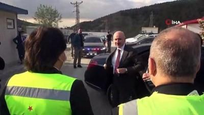 """aliskanlik -  Ulaştırma ve Altyapı Bakanı Adil Karaismailoğlu: """"T26 tüneli tamamlandığı Ankara-İstanbul arası YHT ile 14 dakika daha kısalacak"""""""