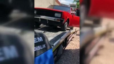 Çaldıkları otomobilleri parçalayan şahıslar tutuklanarak cezaevine gönderildi