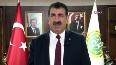 """TÜDKİYEB Başkanı Çelik, """"DİTAP ile birlikte artık çiftlikten sofraya kadar bir hizmet zinciri oluşacak"""""""