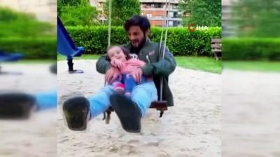 devre arasi - Marcelo Saracchi'nin çocuğu ile keyifli anları