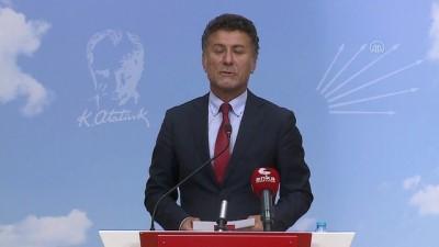CHP Genel Başkan Yardımcısı Sarıbal, gündemi değerlendirdi - ANKARA