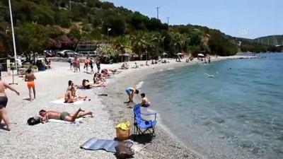 icmeler - Dedeler, nineler ve torunlar sahillerde buluştu - MUĞLA
