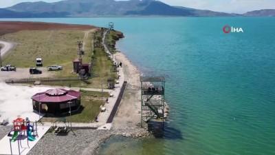 Erçek Gölü ve çevresi koruma altına alındı