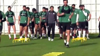 internet sitesi - Konyaspor, Gençlerbirliği maçı hazırlıklarını sürdürdü