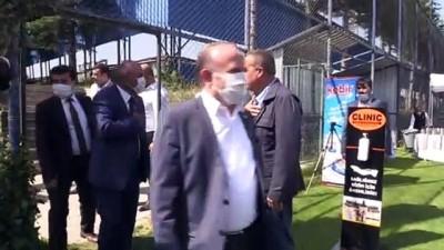 MKE Ankaragücü Başkanı Fatih Mert ve yönetim kurulu, Ankara milletvekilleriyle bir araya geldi