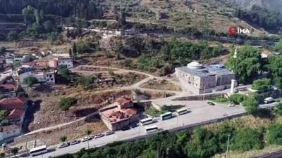Tarihi Ulucami ve çevresi Manisa'nın Millet Bahçesi olacak