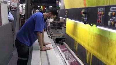 Halı fabrikalarında Kovid-19'a karşı üst düzey tedbirler uygulanıyor - GAZİANTEP