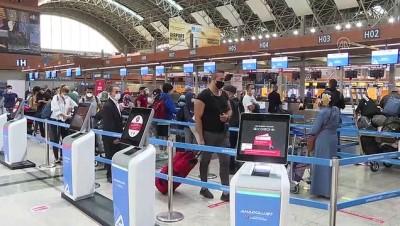 caga - İstanbul Sabiha Gökçen Havalimanı'ndan yurt dışı uçuşları yeniden başladı - İSTANBUL