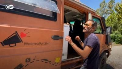 italyan - Karavanıyla dünyayı gezen İtalyan Fethiye'nin cennet koylarında mahsur kaldı