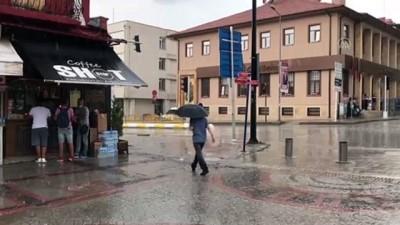 osmanpasa - Şiddetli yağış ve dolu etkili oldu - EDİRNE