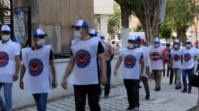 Soma'da 7 yıl önce kapatılan maden ocağının işçileri eylem yaptı - MANİSA
