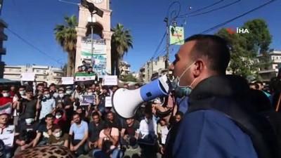 - Suriyeli gazetecilerden saldırılara karşı protesto