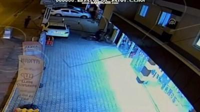 televizyon - Ev ve iş yerinden hırsızlık güvenlik kamerasında - OSMANİYE