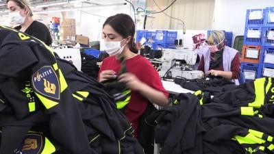 tekstil fabrikasi - Hollanda polisinin üniforması Türkiye'den - İZMİR