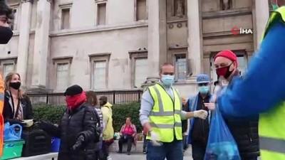 - İngiltere'de Floyd cinayeti protestoları 1 haftadır devam ediyor