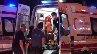 gorgu tanigi -  Kontrolden çıkan otomobil takla atarak devrildi: 2'si ağır 5 yaralı