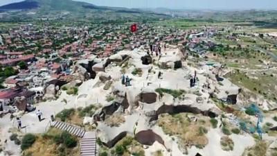 saglik personeli - Sağlık çalışanları Kapadokya'daki Uçhisar Kalesi'ni ücretsiz gezebilecek - NEVŞEHİR