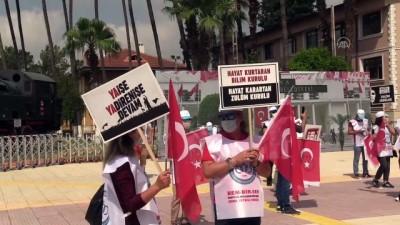 Belediyelerde işten çıkarmalar protesto edildi - ADANA