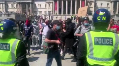 - İngiltere'de heykellere karşı tepki devam ediyor   -İngiltere'de aşırı sağcılar sokağa çıktı