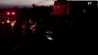Malatya'da iki yük treni çarpıştı: 1 ölü, 3 yaralı (4)