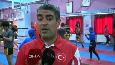 milli sporcu - Muaythai ve kick boksta milli sporcular çalışmalara başladı - BİTLİS