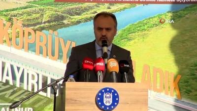genclik merkezi -  Mustafakemalpaşa'nın iki yakası köprüyle bağlandı