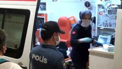 Taksim'de otobüs şoförü ile yolcu arasında kavga