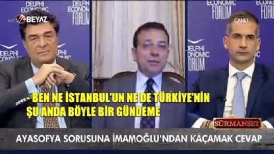 osman gokcek - Ayasofya sorusuna İmamoğlu'ndan kaçamak cevap!