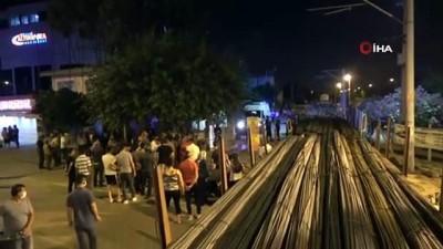Yük treninin çarptığı kişi öldü