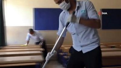 kimya -  LGS öncesi okullar dezenfekte edildi