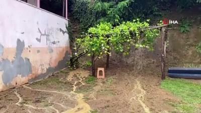 icmeler -  Düzce'de meydana gelen selde dereler taştı, evleri su bastı
