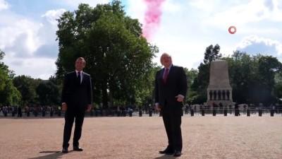 - Fransa Cumhurbaşkanı Macron'un ilk yurt dışı ziyareti Londra'ya