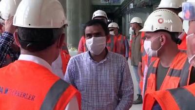 saglik personeli -  Kocaeli Şehir Hastanesi'nin bağlantı yolu çalışmaları hızla sürüyor
