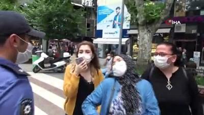 """saglik personeli -  Maske takmayan vatandaş: 'Ben de sağlıkçıyım inanın çalışırken bile takmıyorum"""""""