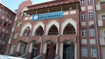 salar -  Nevşehir'de LGS sınavı öncesinde okullar dezenfekte edildi
