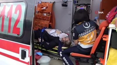 Samsun'da otomobil takla attı: 1 ölü, 4 yaralı