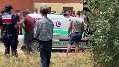 nayet zanlisi -  Balıkesir'de korkunç cinayet...Boğazı kesilmiş erkek cesedi bulundu