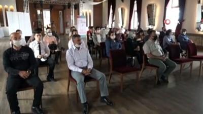 Meslek liselilerin sunumları katılımcıları etkiledi