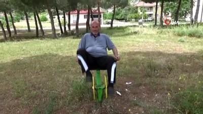 Minibüs şoförü 11 ayda 60 kilo verdi