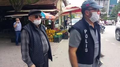 Motosikletli maskesiz gençten ilginç tepki: 'Benim de youtube kanalım var. Ben de anlıyorum bu işlerden. Müsaade et'