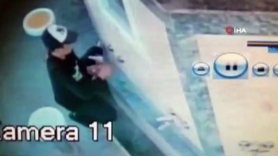 osmanpasa -  Cami musluklarıyla imamın bisikletinin çalındığı anlar kamerada