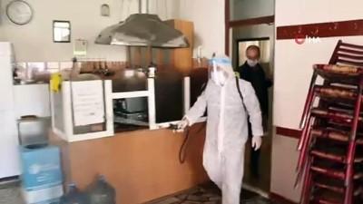 ocaklar -  Kartal Belediyesi'nden ilçedeki kahvehane ve kıraathanelere dezenfekte hizmeti