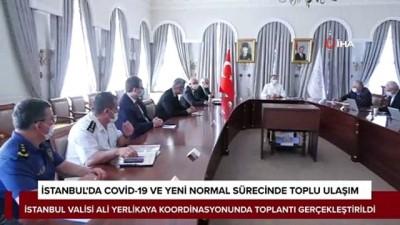 Vali Yerlikaya koordinasyonunda İstanbul'da toplu ulaşım toplantısı gerçekleştirildi